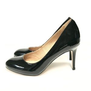 Corso Como: Black Patent Leather Pumps